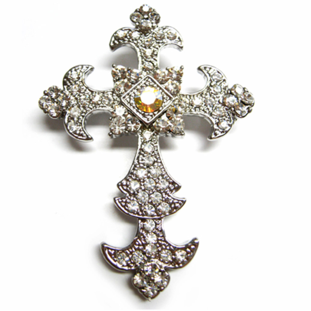 Cross Brooch Embellishments