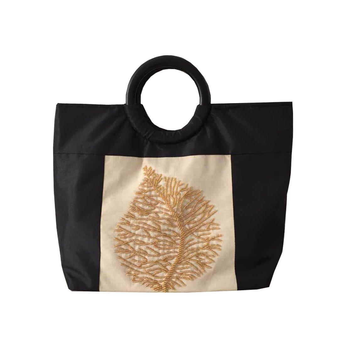 Cream Silk Bag
