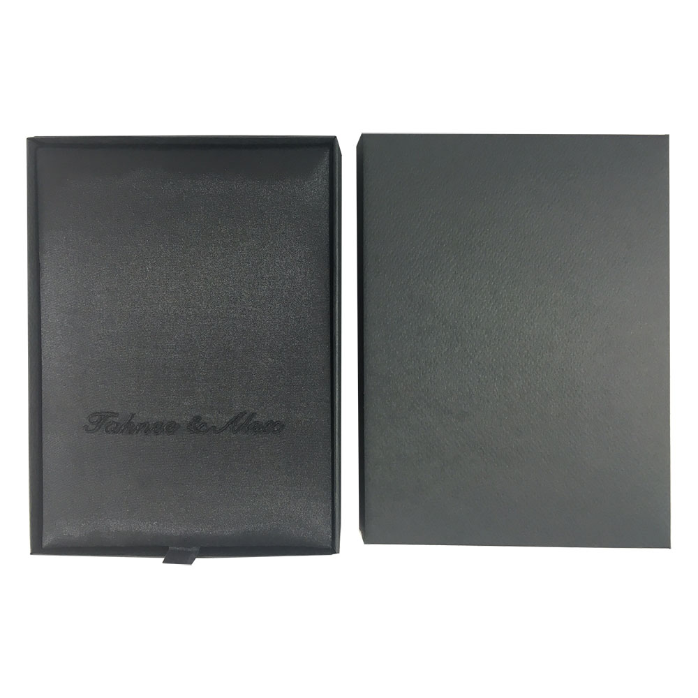 Black invitation box set