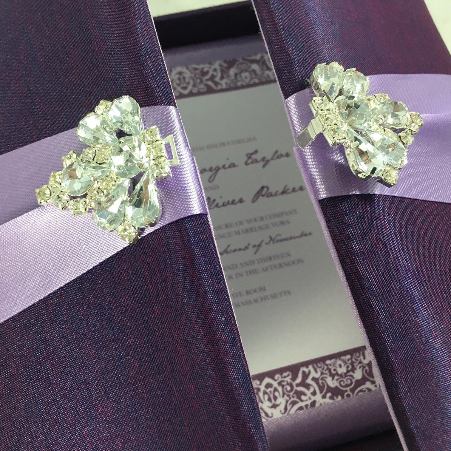 High End Elegant Wedding Invitations Disney World