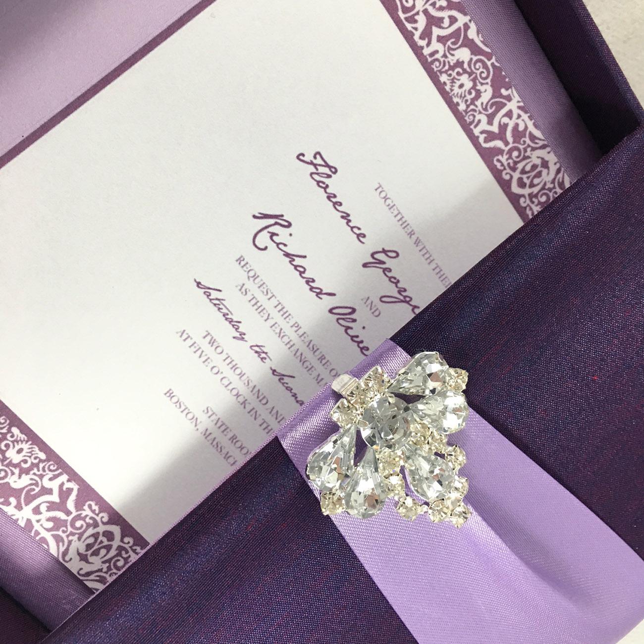 Luxury wedding box