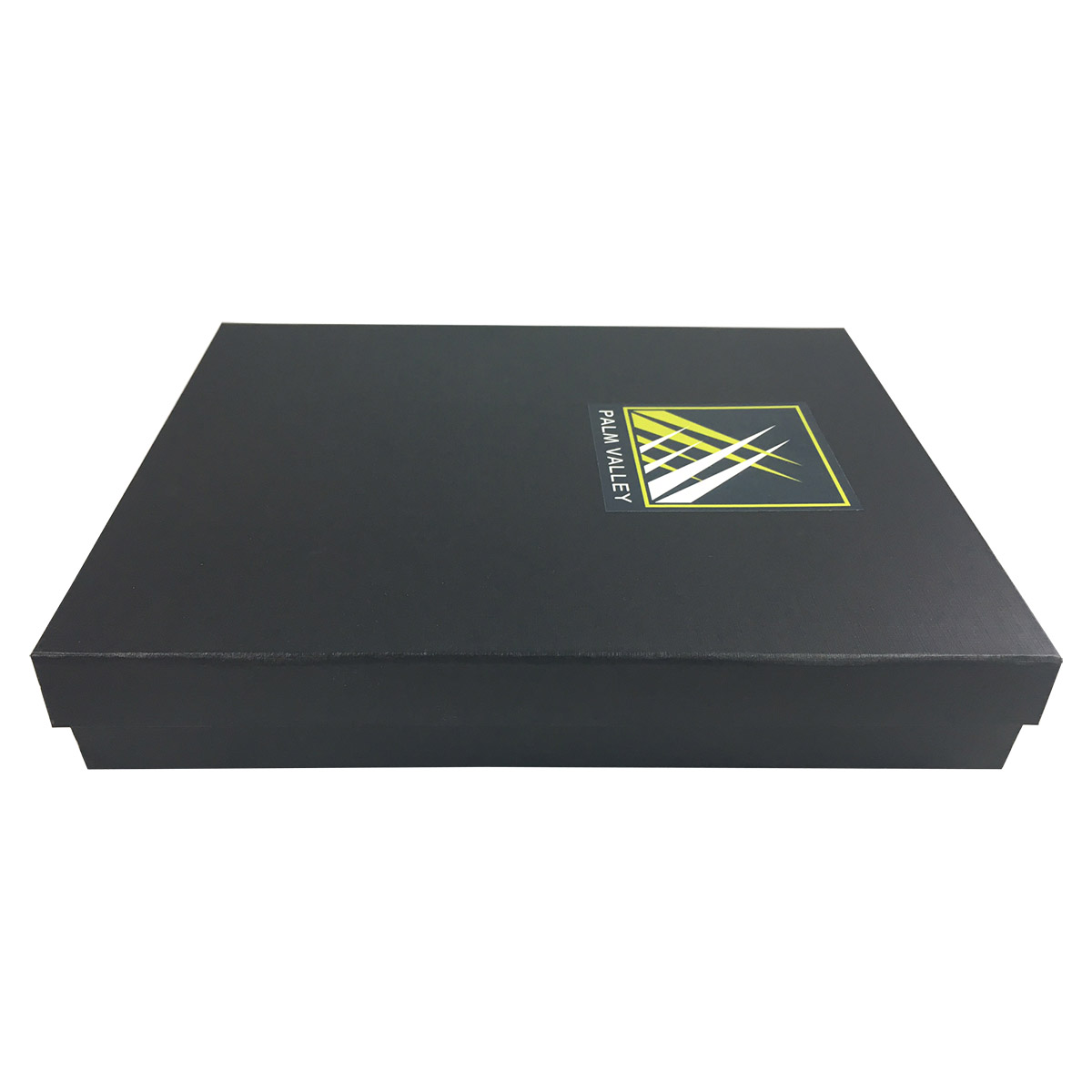 Black High End Paper Packaging Box With Your Personal Logo