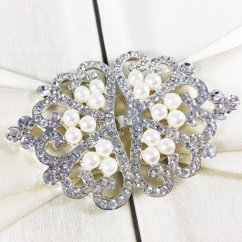 Pearl clasp wedding embellishment