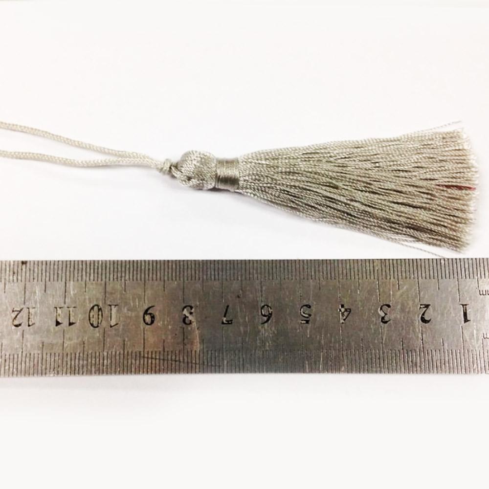 silver tassel