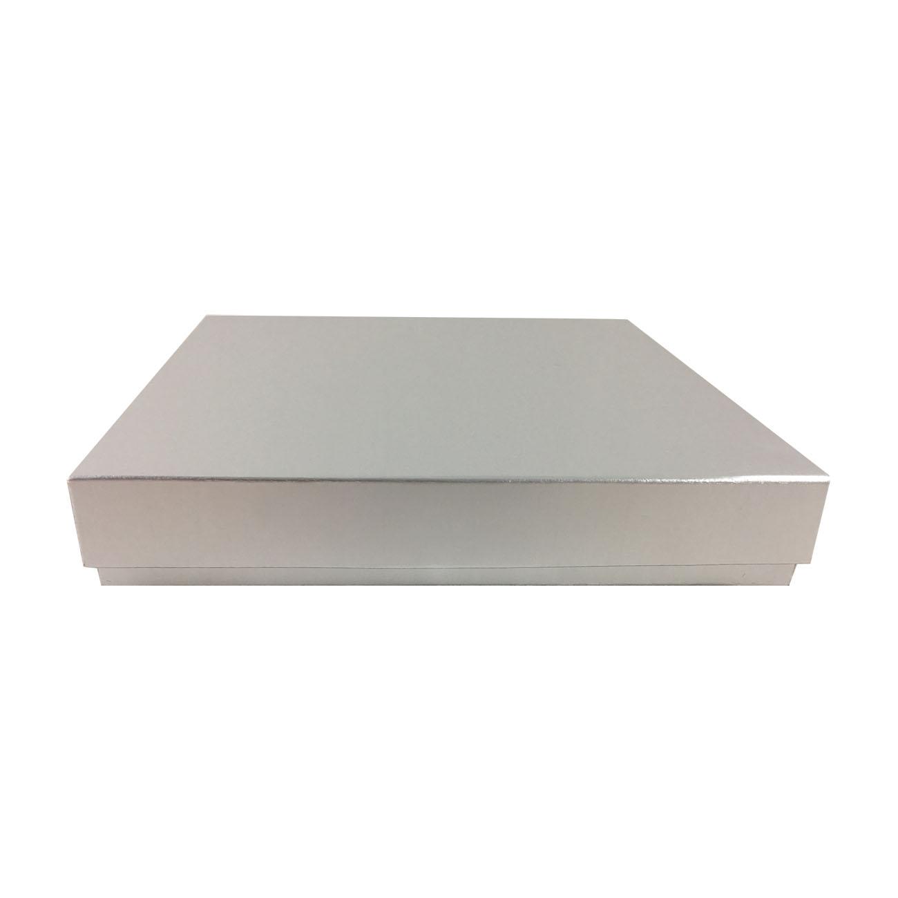 aluminium look cardboard box for mailer packaging