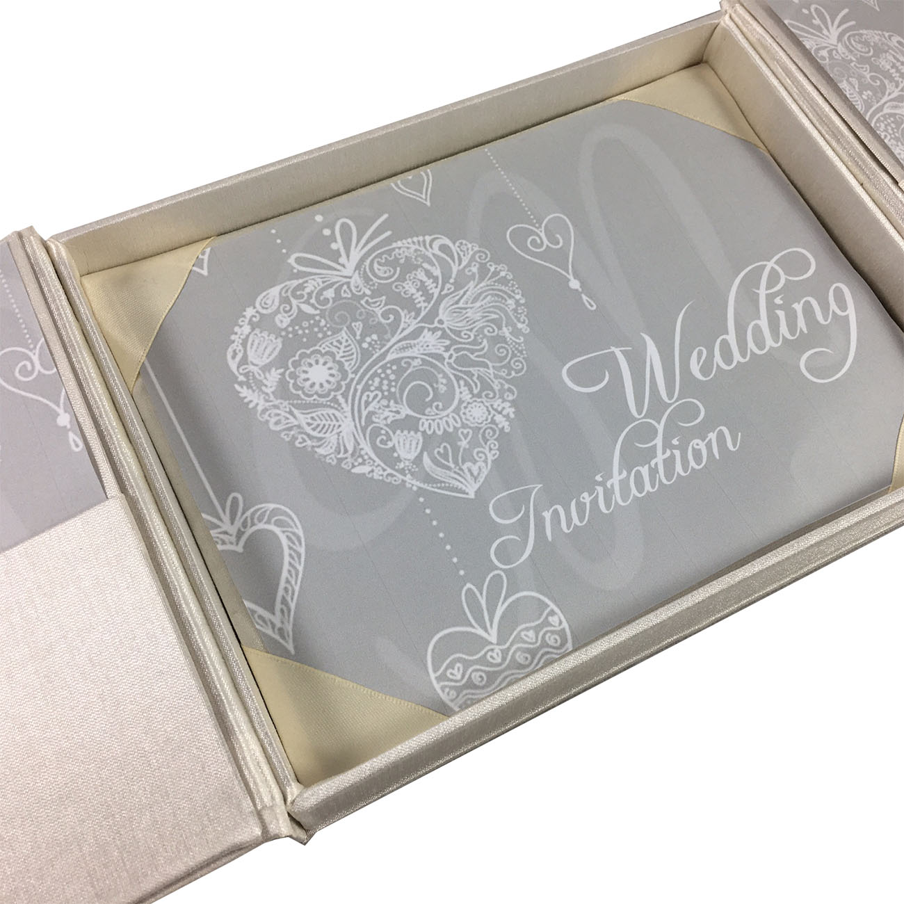 interior of boxed invitation design