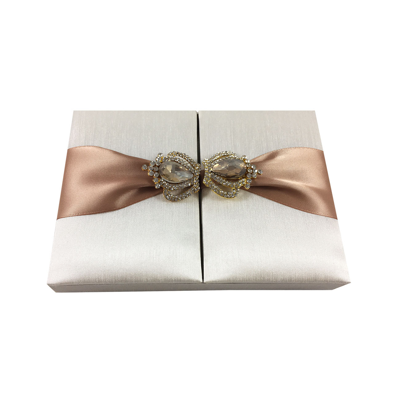dupioni silk wedding box
