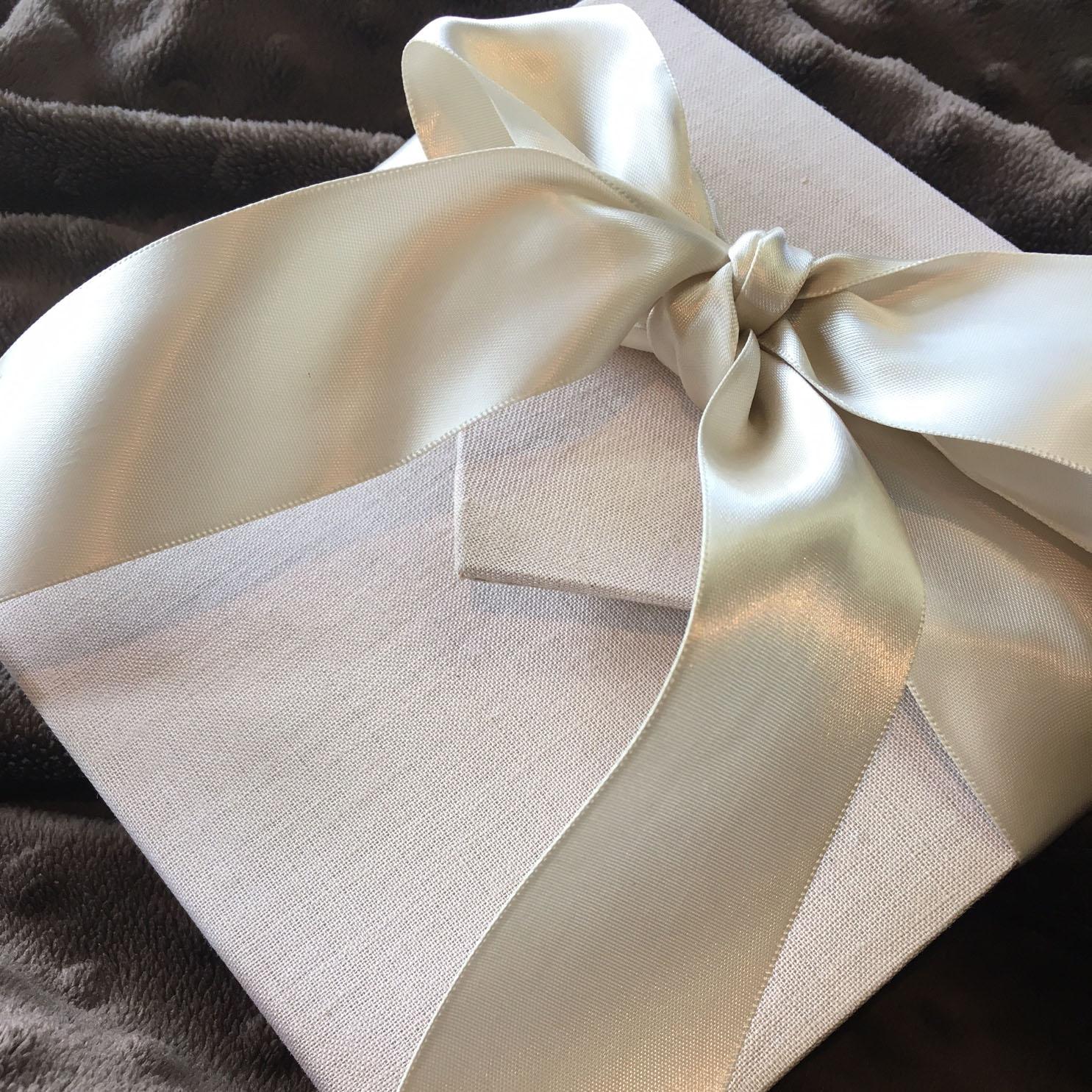 linen wedding envelope