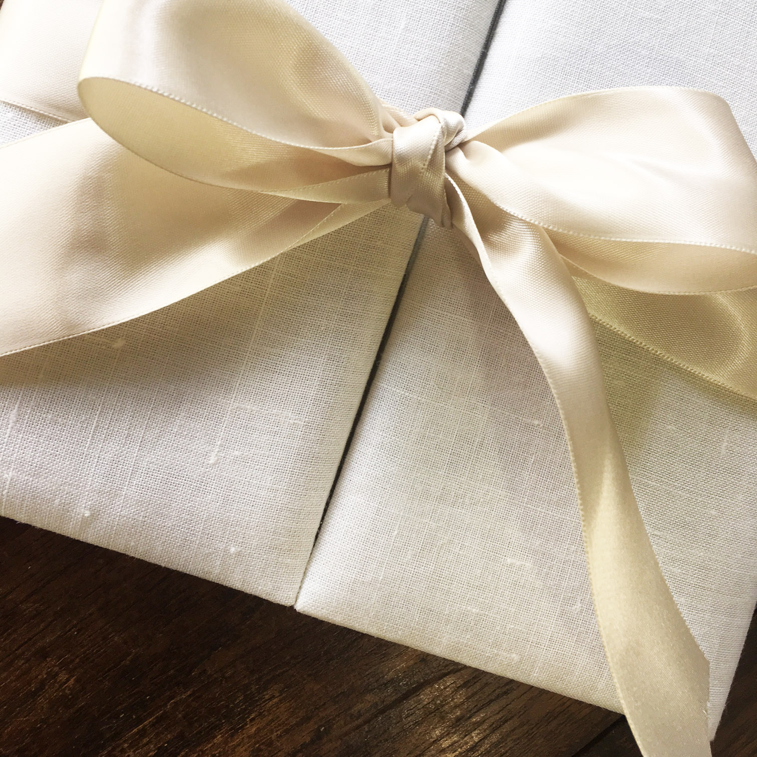 luxury linen invitations