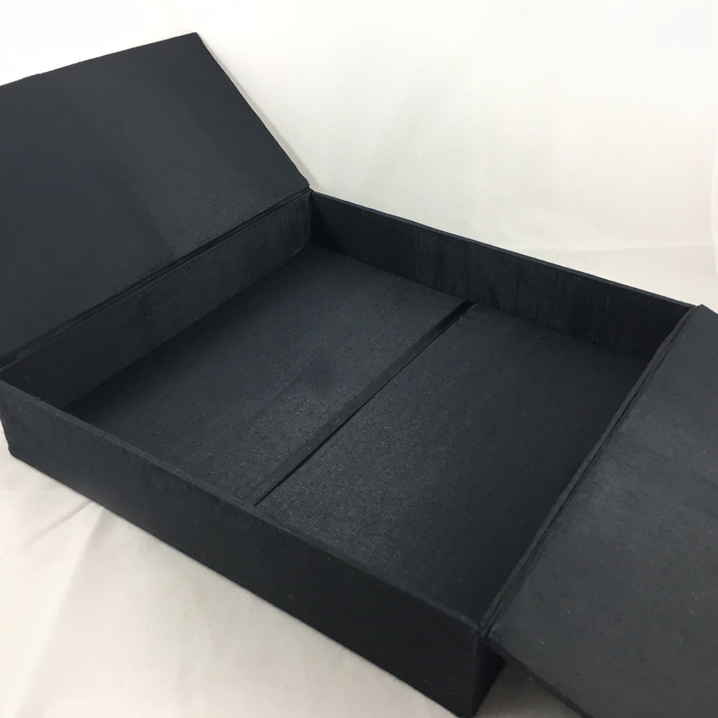 Large black box for funeral and condolence