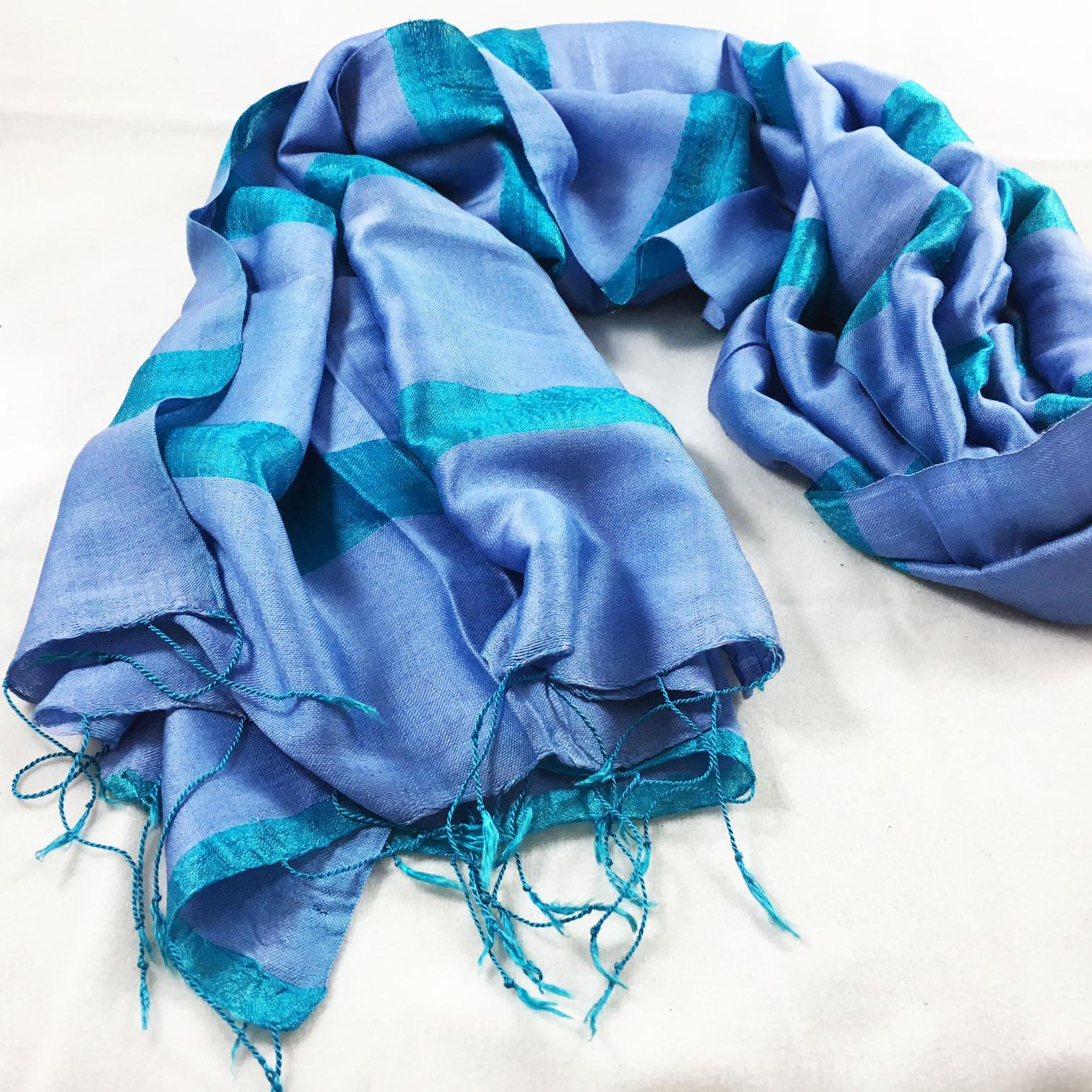 Luxury silk shawls