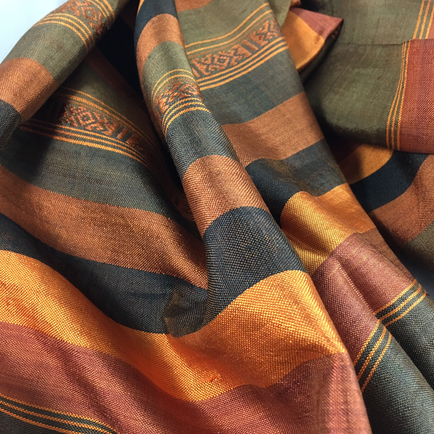 Silk Scarf From Chiang Mai, Thailand