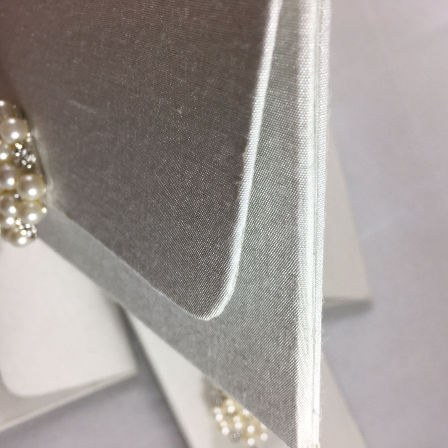 silk wedding envelope