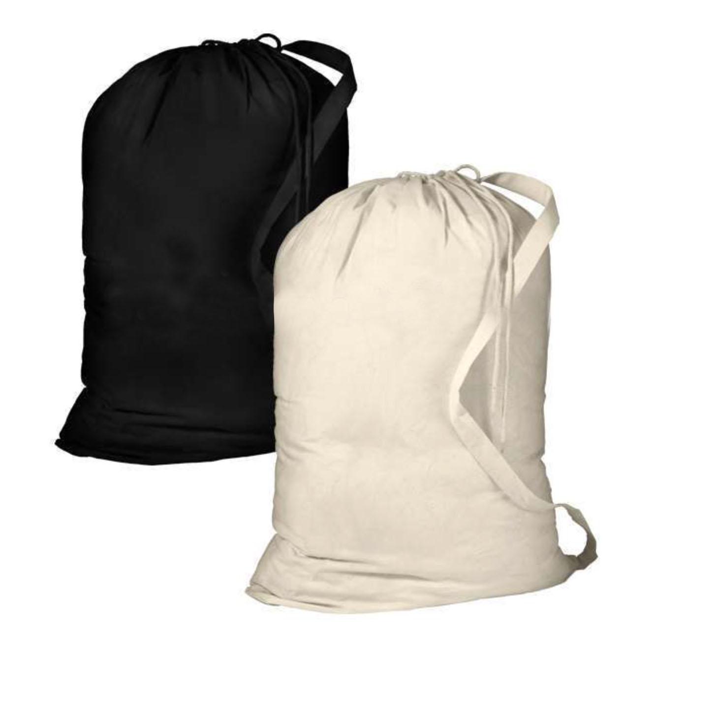 cotton drawstring duffle bag