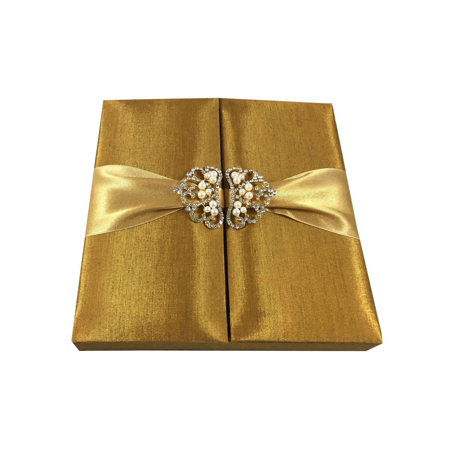 golden pearl wedding box