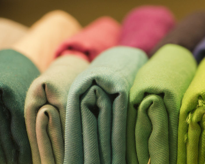 Thai cotton fabric for bags