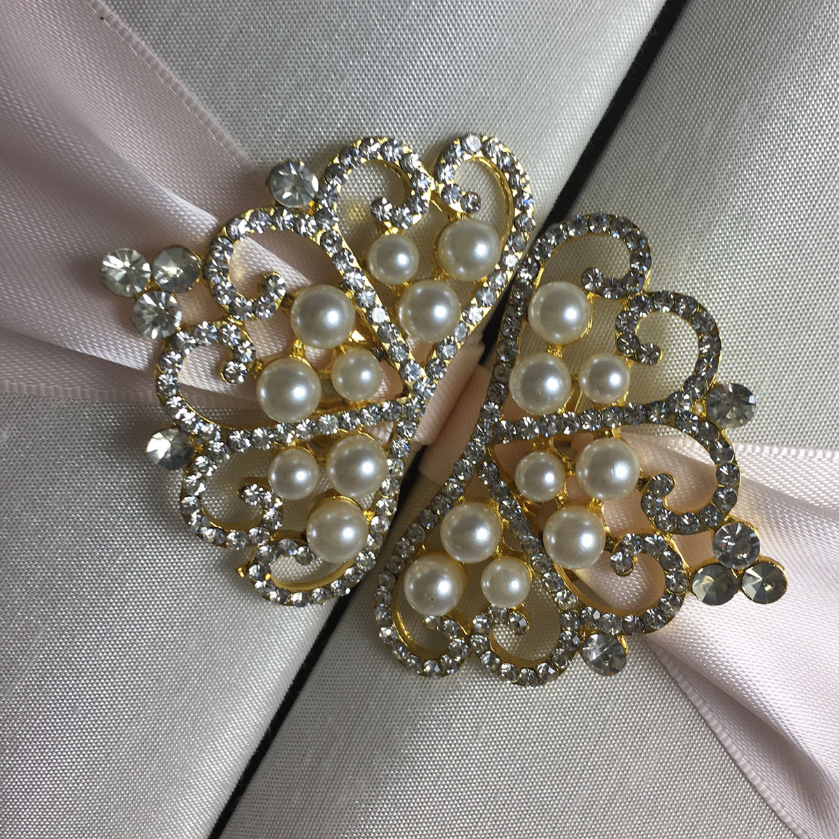 crown wedding brooches