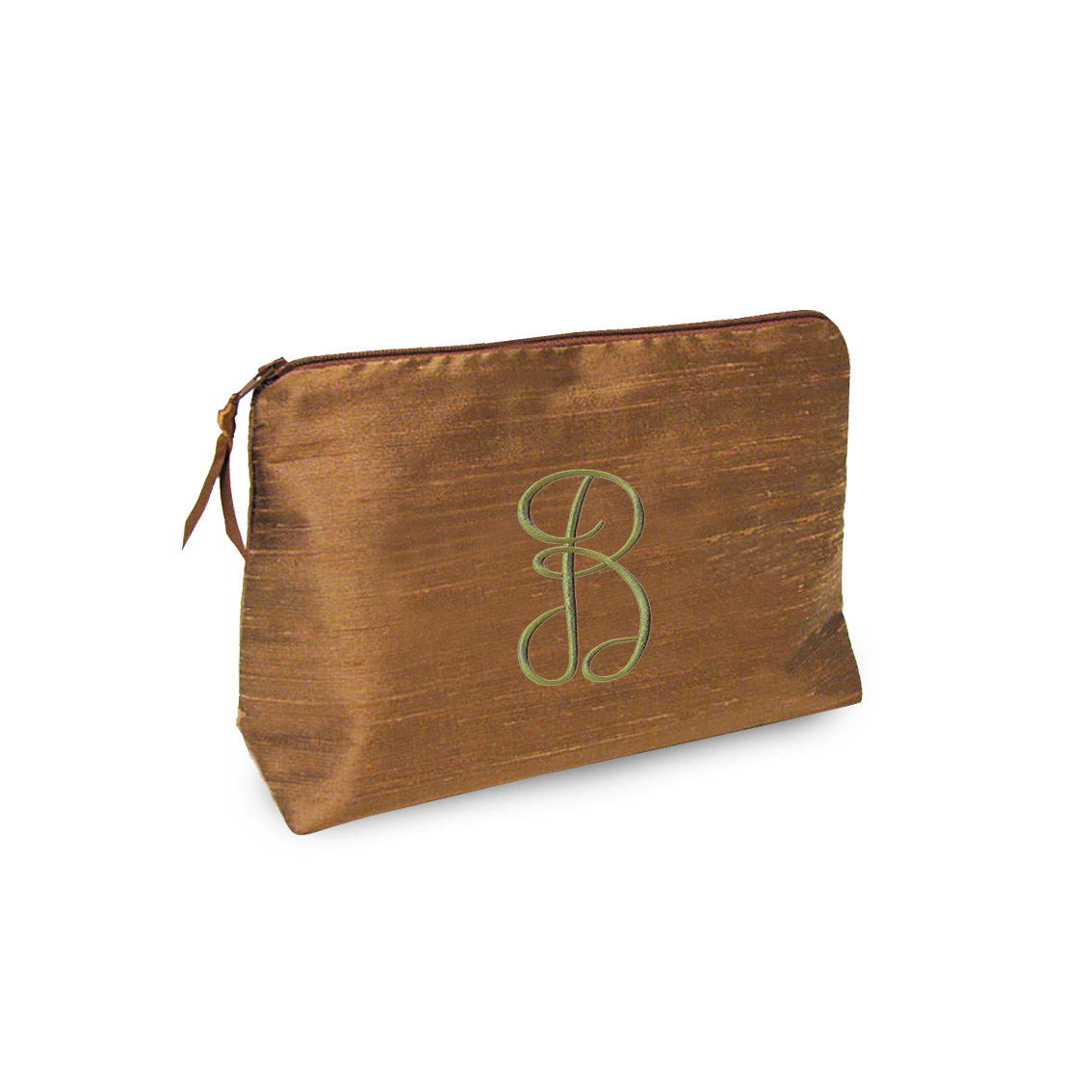 embroidered silk cosmetic bags