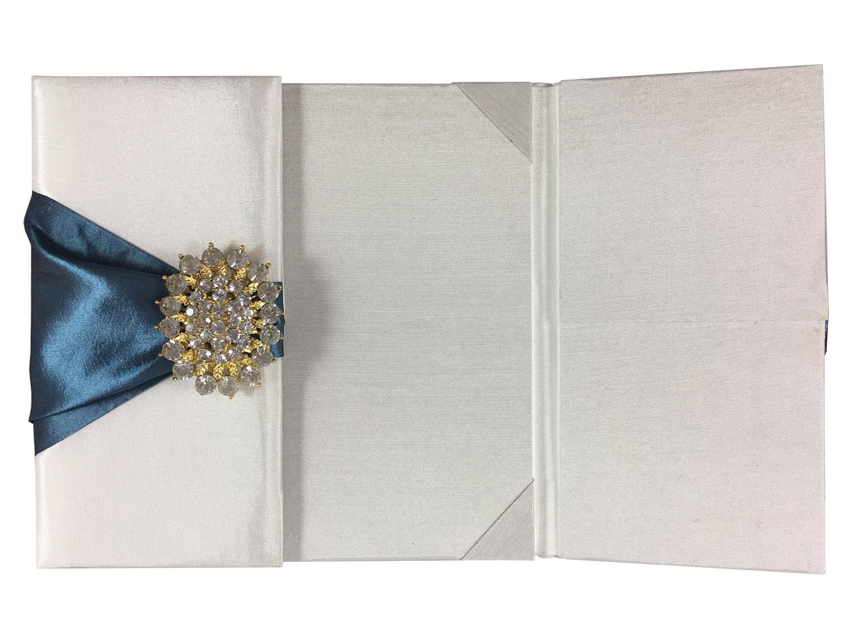 high end wedding pocket folder