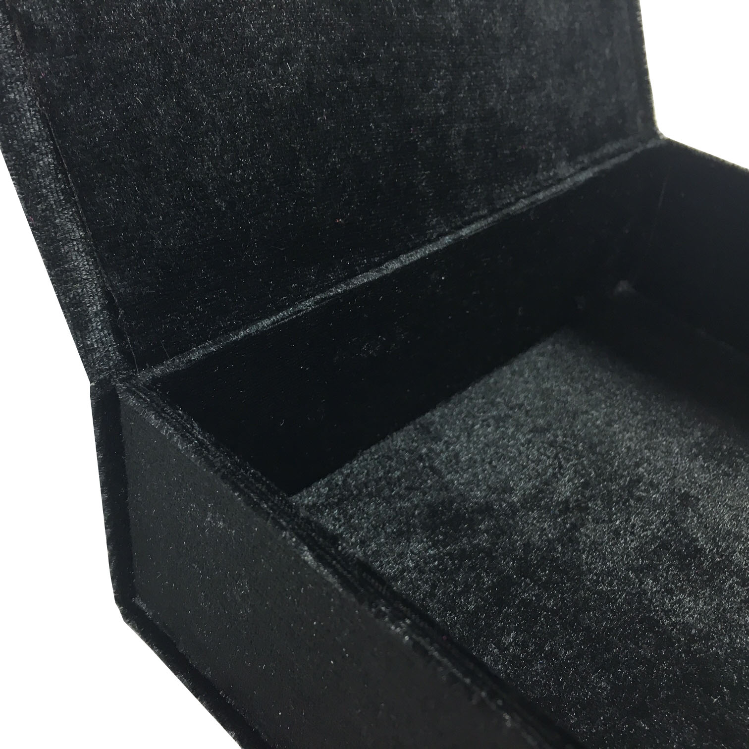 Black velvet packaging box