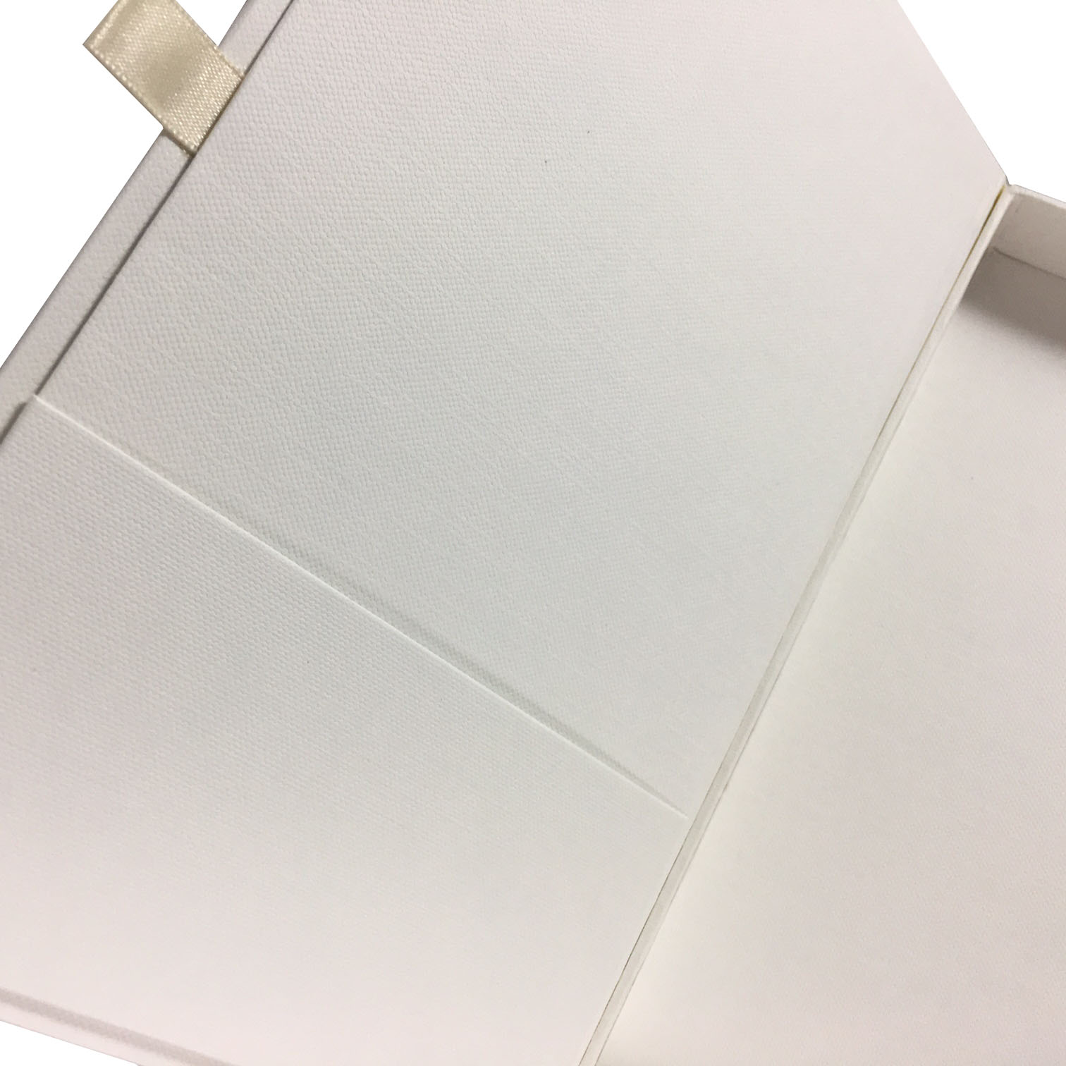 ivory packaging box for invitation cards