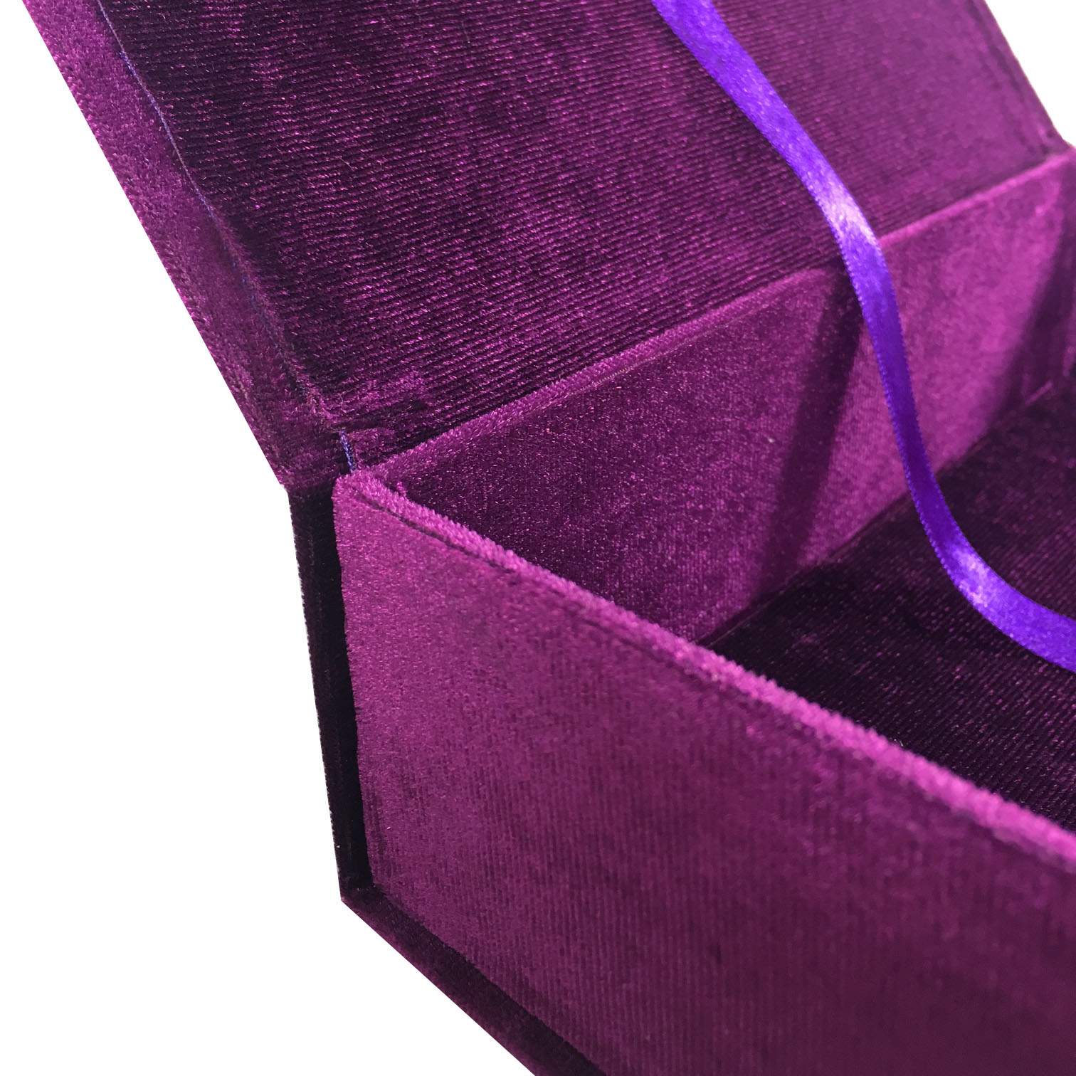 purple wedding box