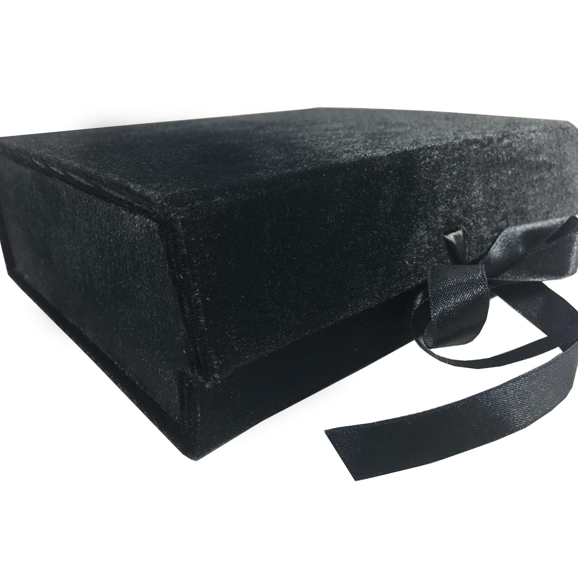 Quality velvet packaging box