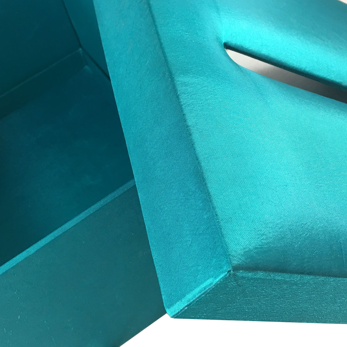 teal wedding box