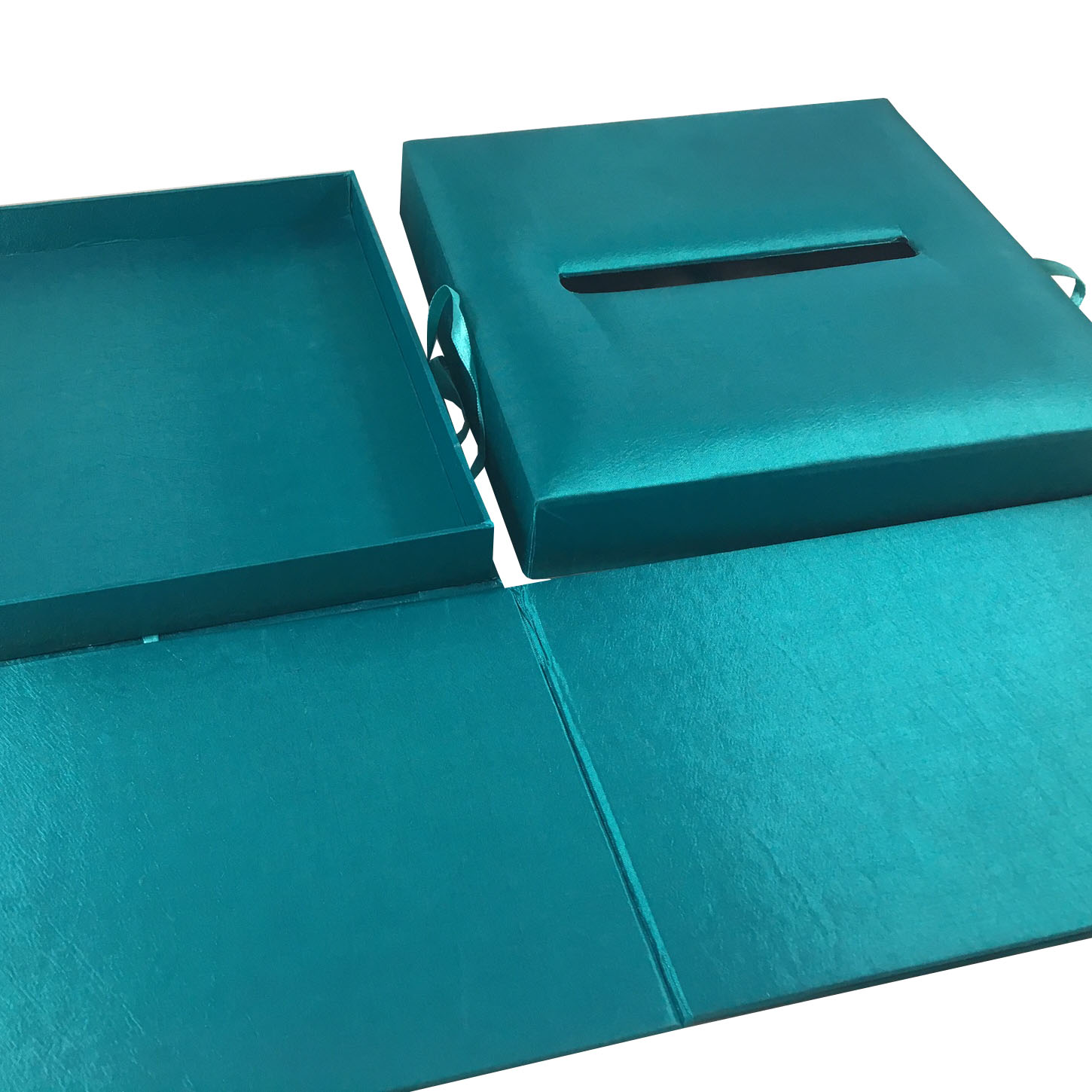 three piece folding box