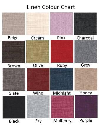 linen color chart