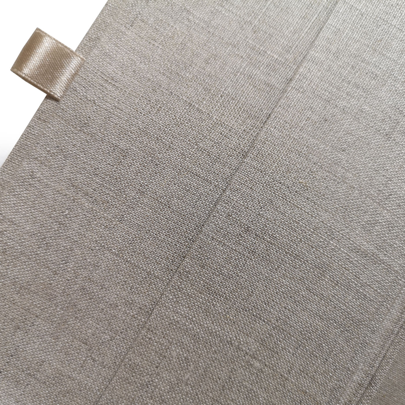Linen fabric cover
