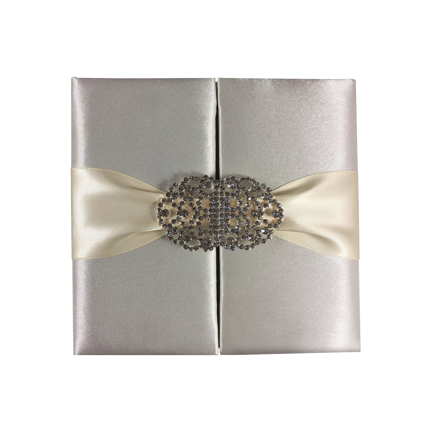 luxury high-end silk invitations