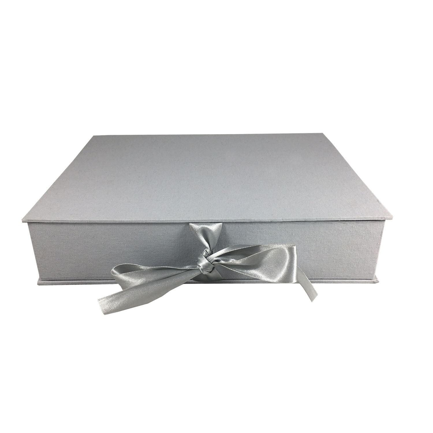 grey linen photo box