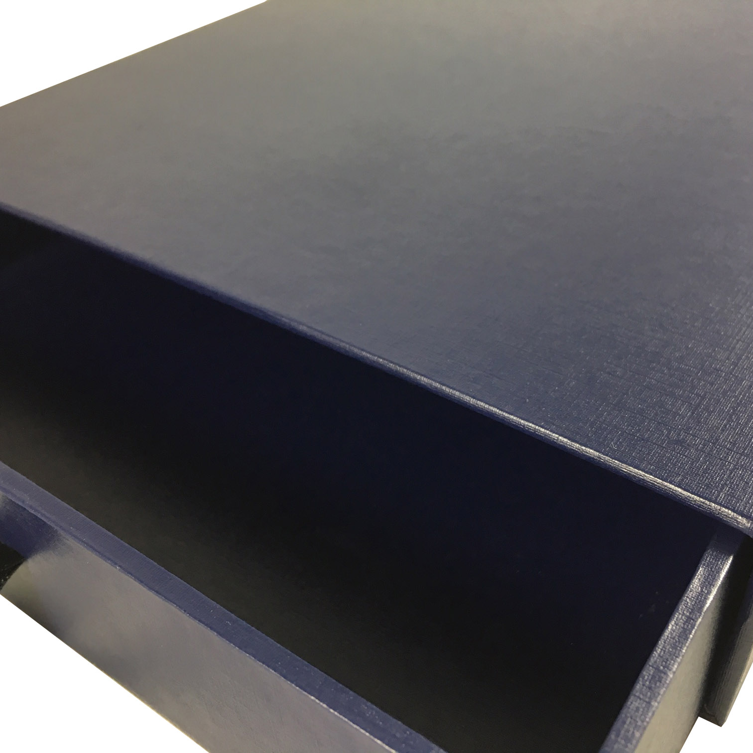 navy blue drawer design box