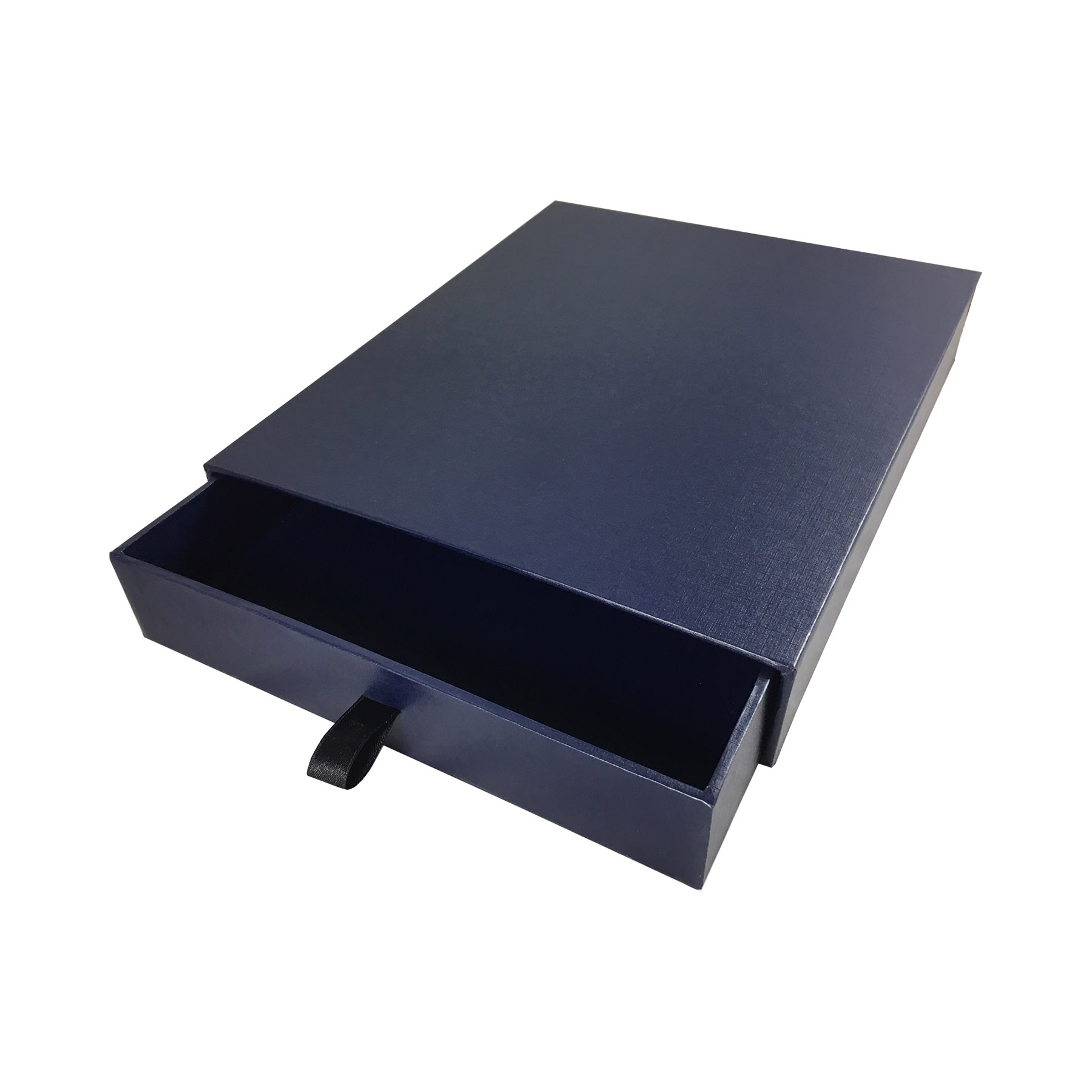 navy blue drawer box