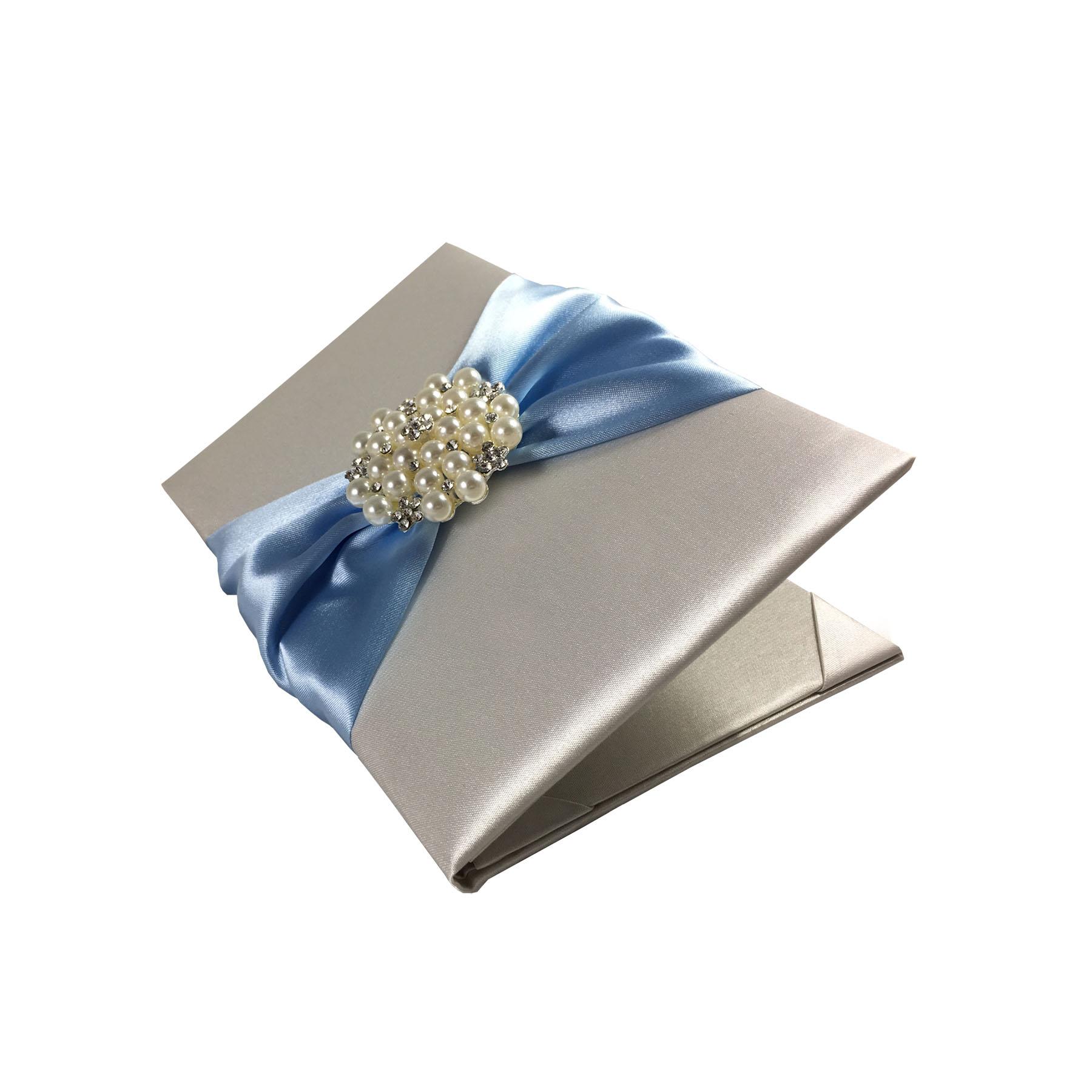 extravagant pearl invitation