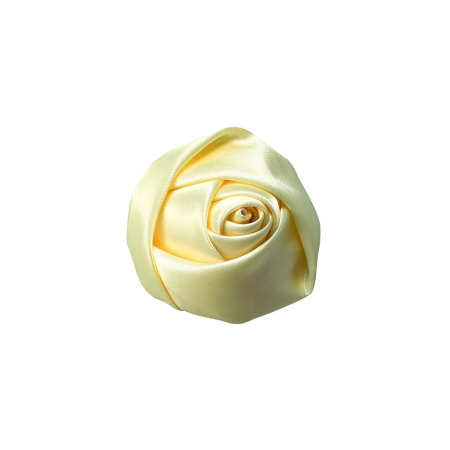 Cream color silk flower
