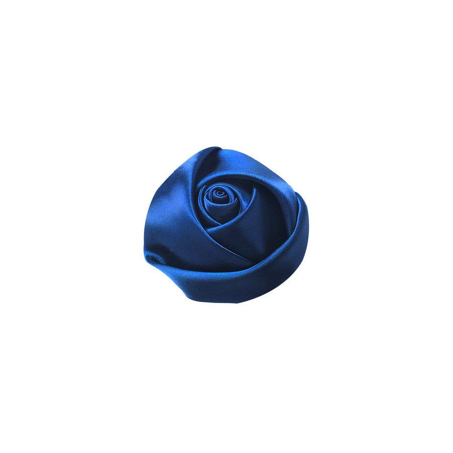 royal blue silk flower