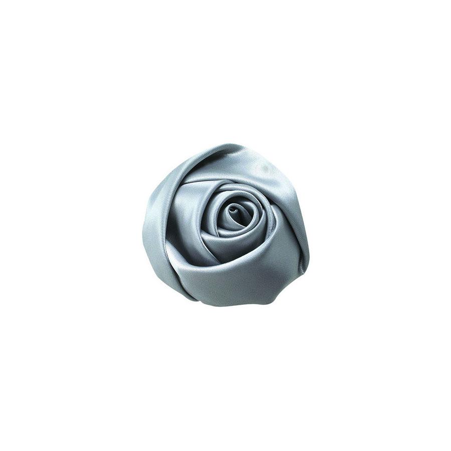 silver silk flower