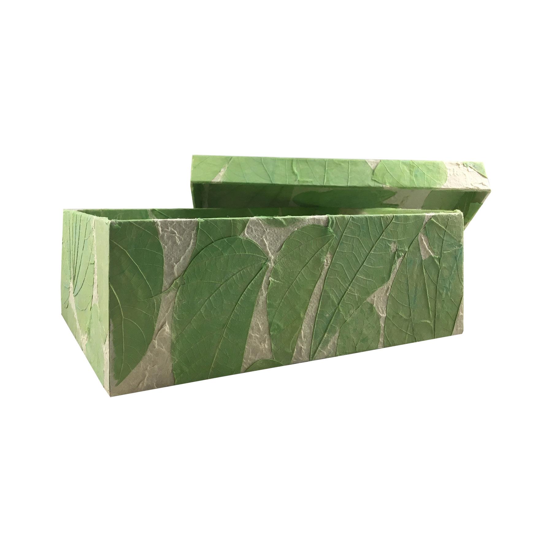 green saa paper box
