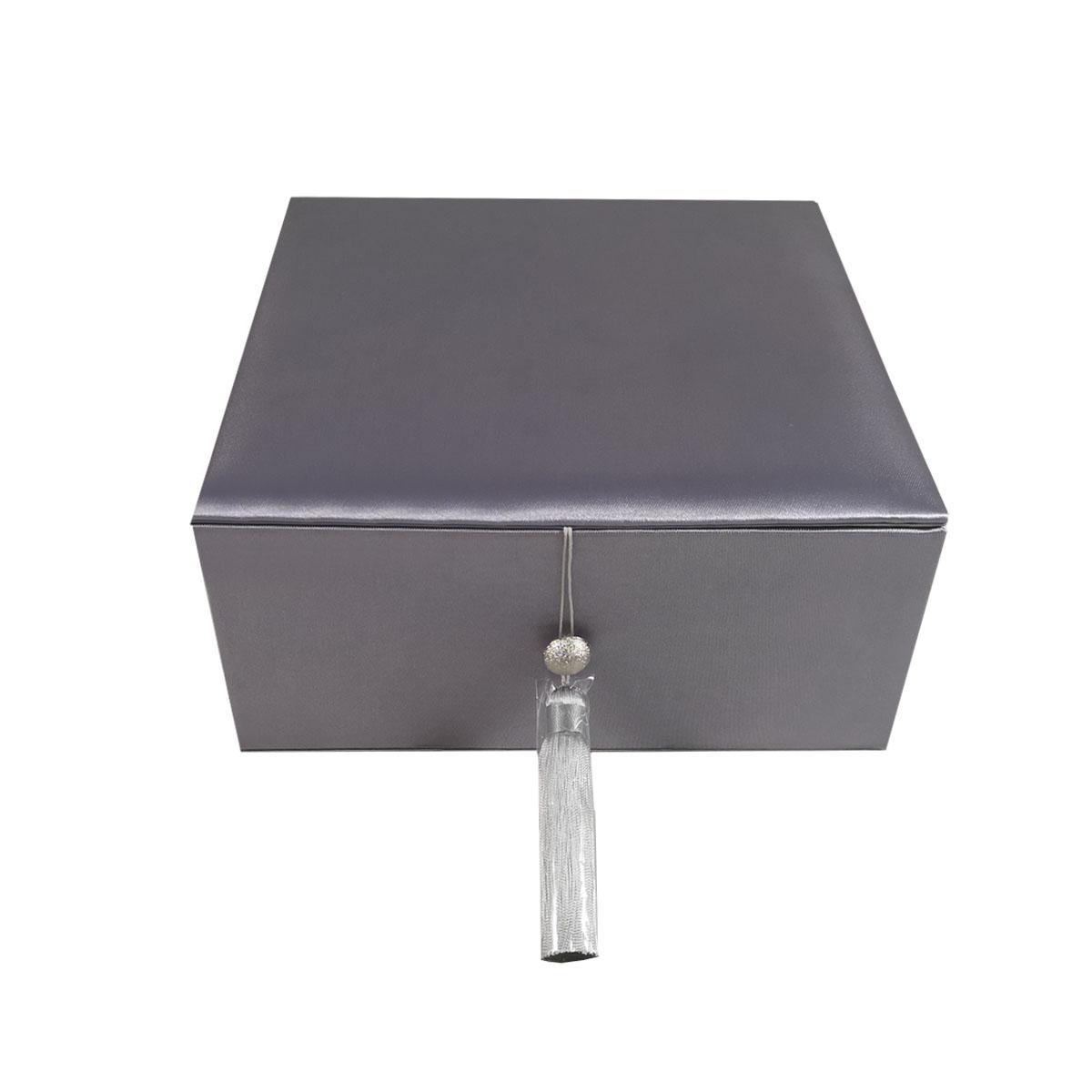 Luxury silk premium gift box