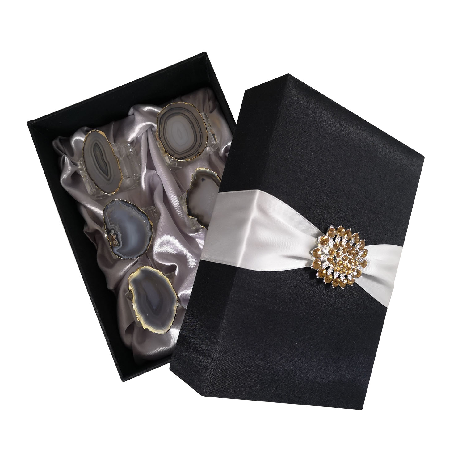 Napkin ring packaging box
