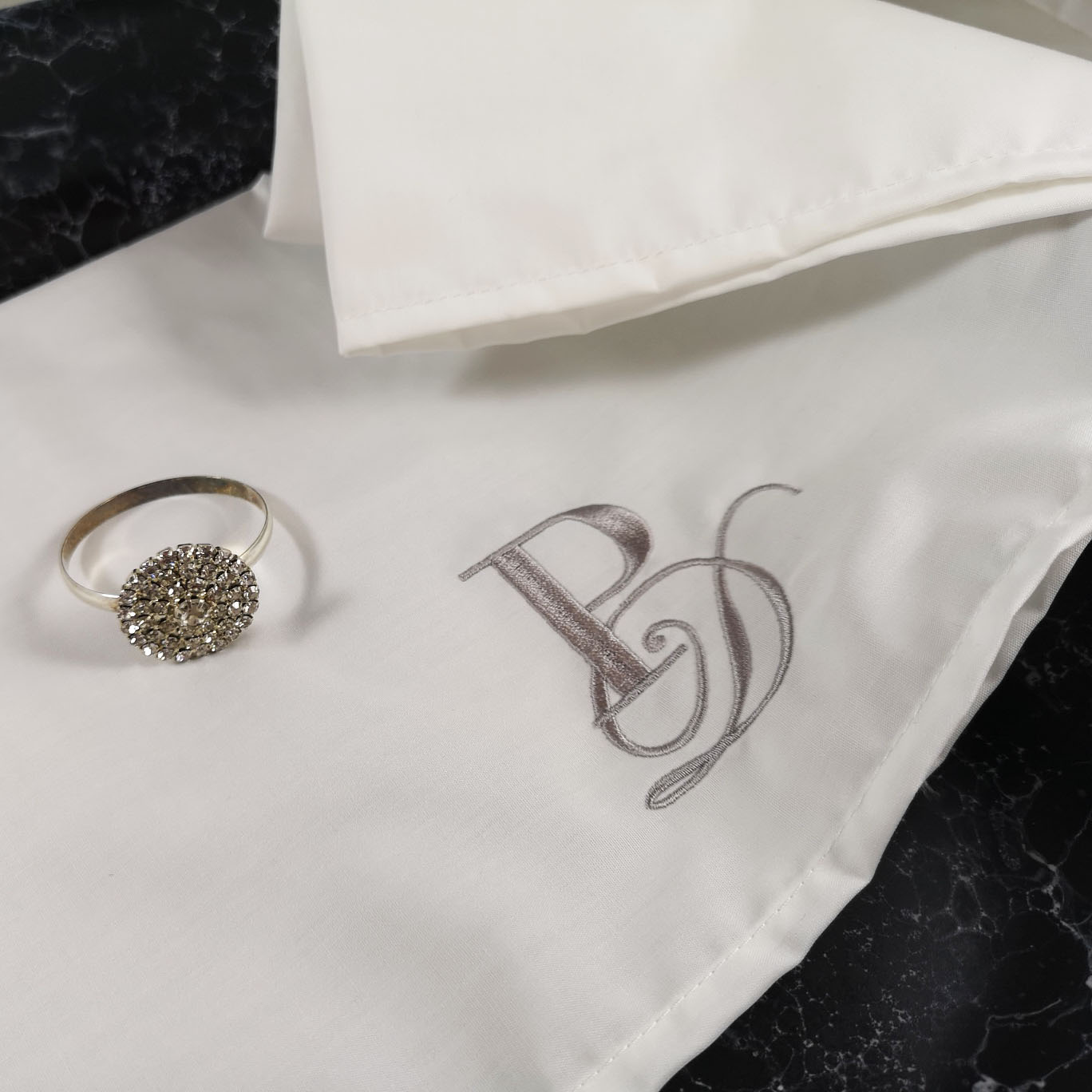 Personalised wedding napkin