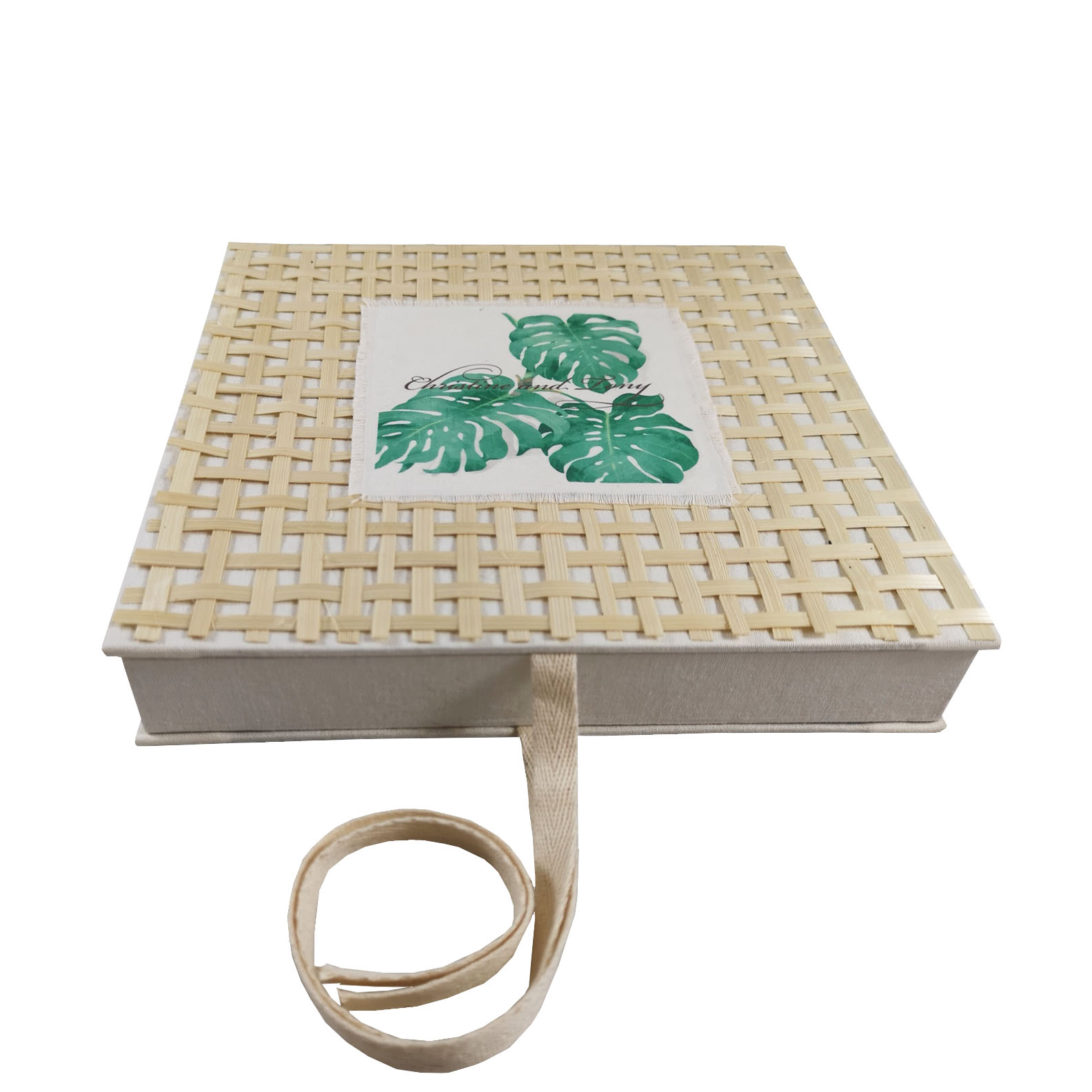 Beach wedding invitation box
