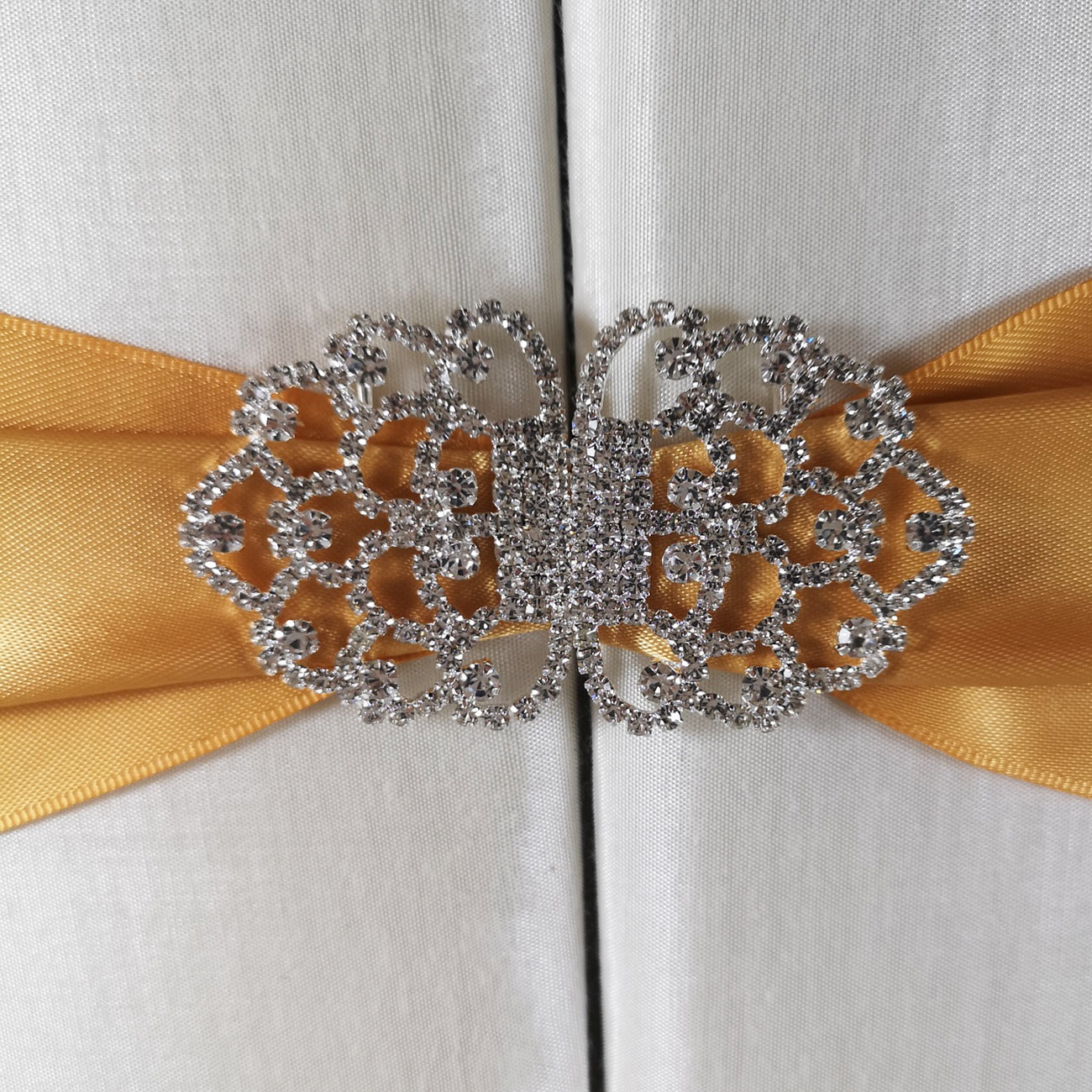 crystal clasp embellishment