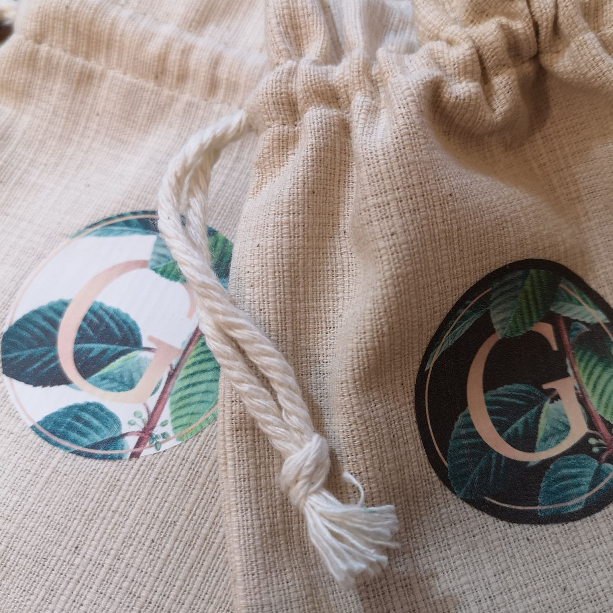 personalized eco bags