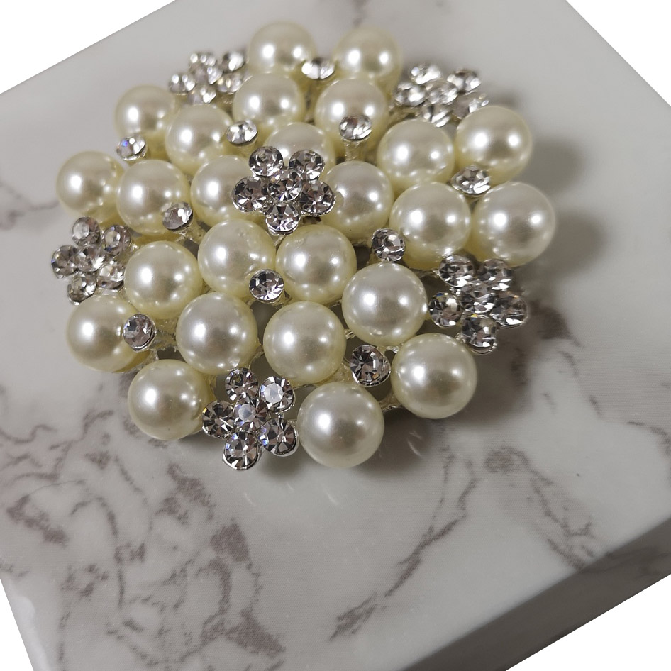 embellished marble box