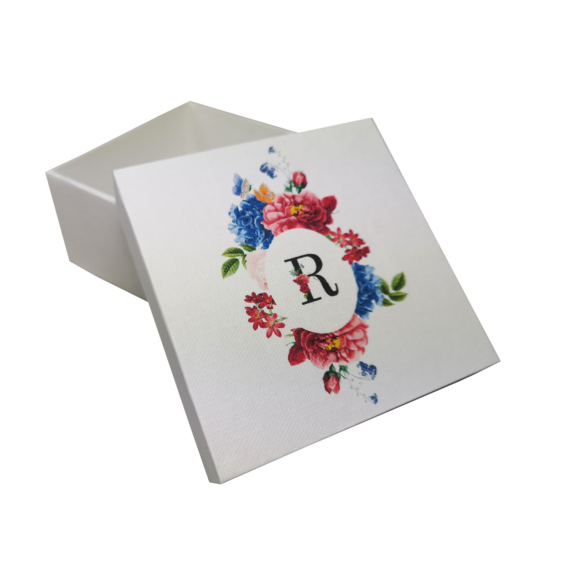 Flower Paper Box For Wedding Favor