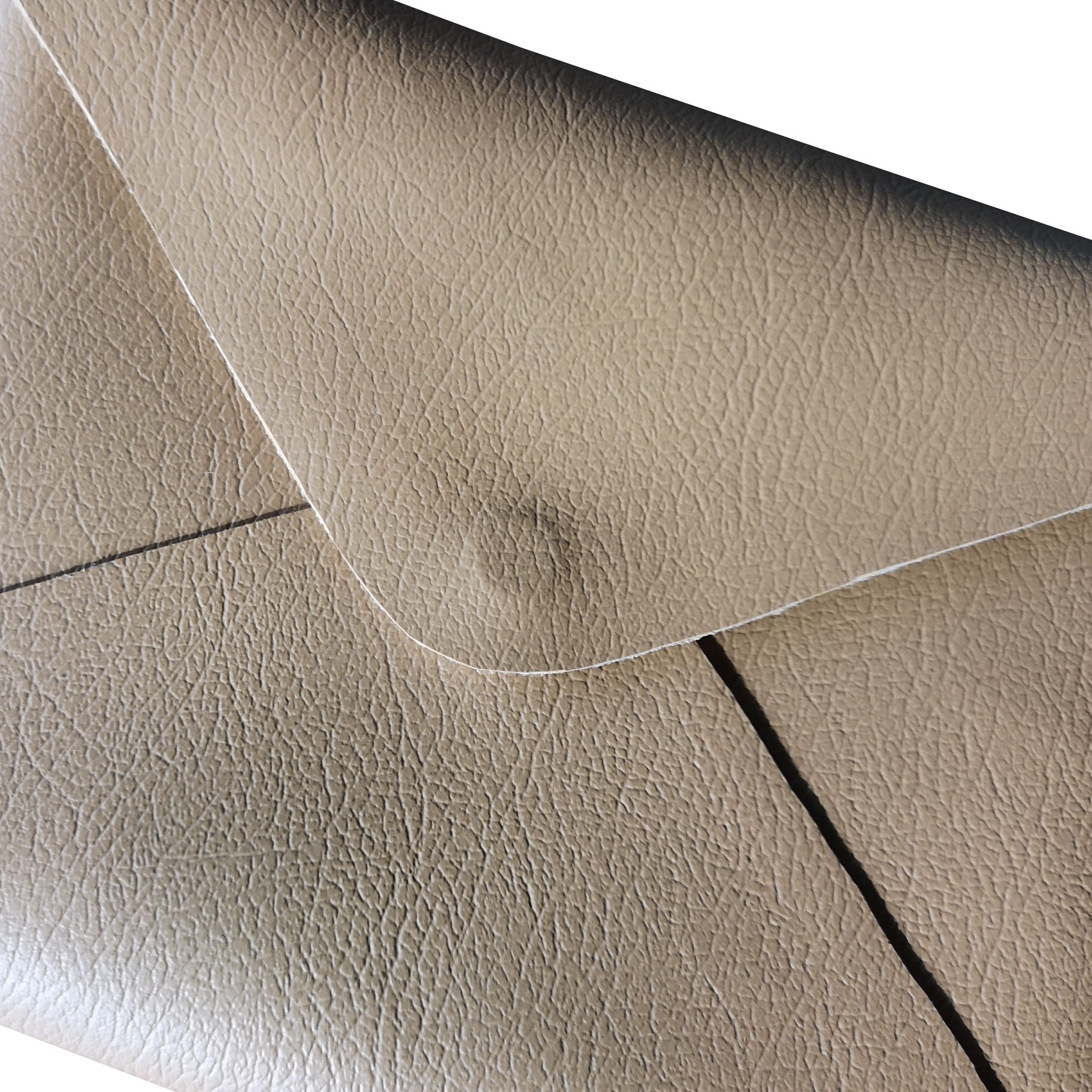 Luxury leather envelope