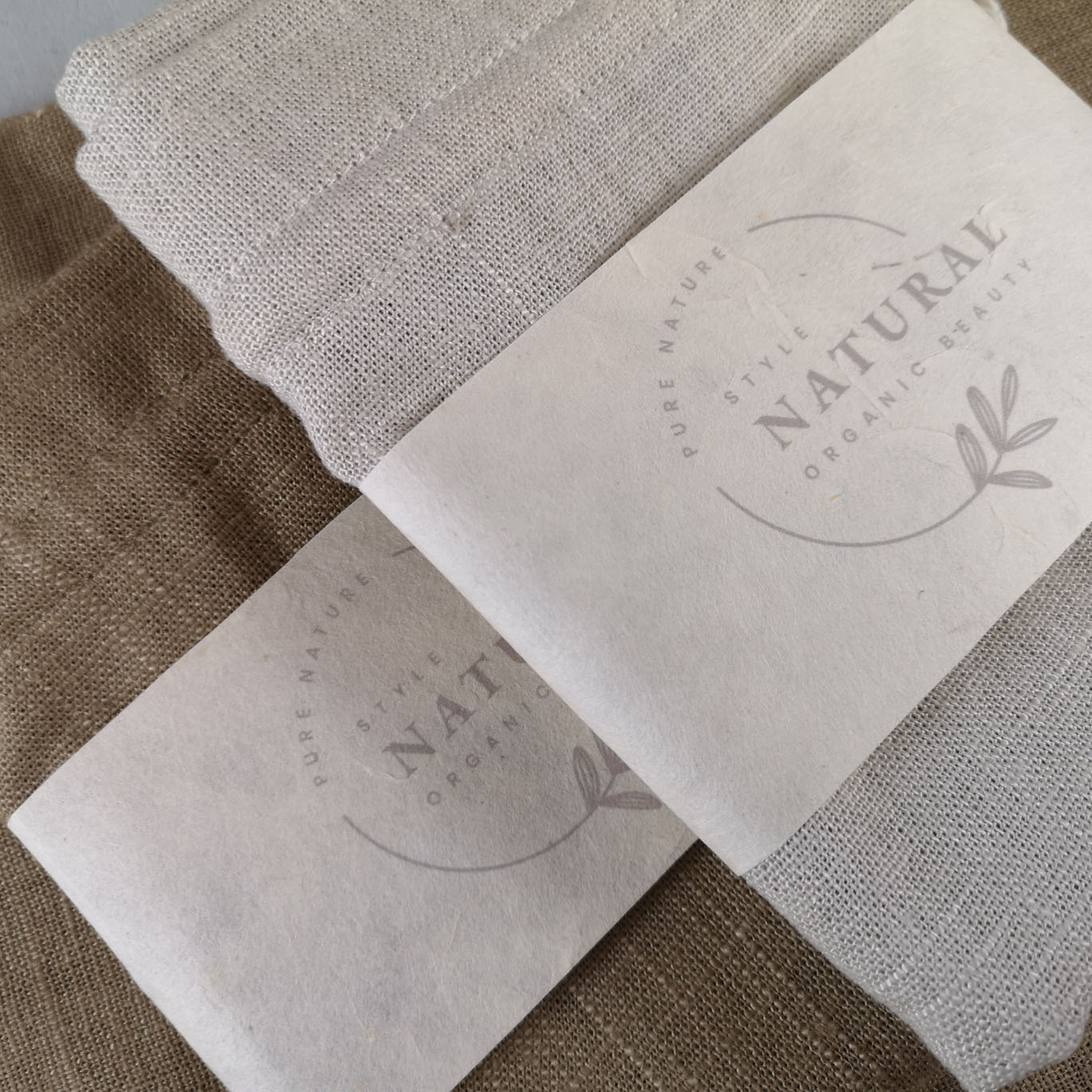 Hemp drawstring bags for packaging